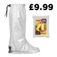 White Pocket Festival Wellies